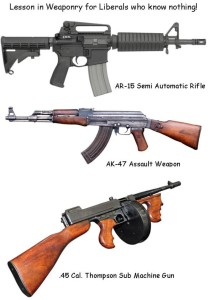 Weaponry for liberals
